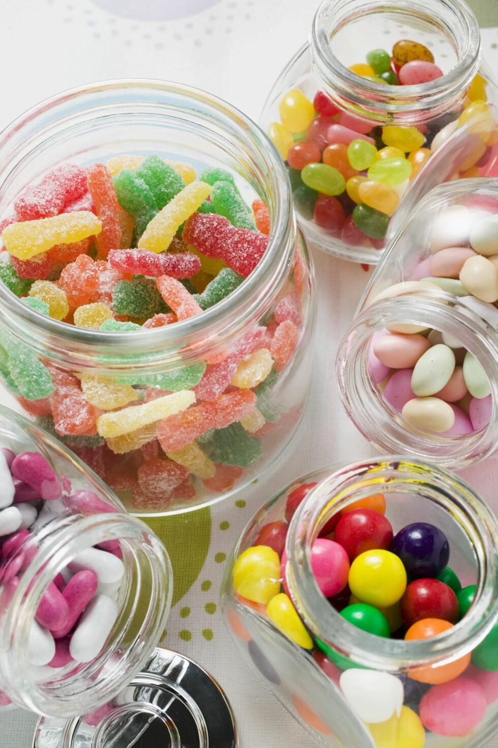 PASS PÅ: Sukkerfri tyggis kan faktisk gjøre at du får mer lyst på søtsaker.  Foto: Scanpix
