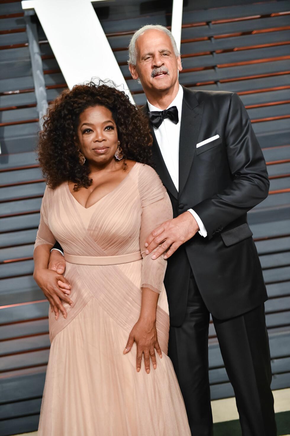 STJERNEPAR: Oprah Winfrey og Stedman Graham har vært sammen i snart 30 år!  Foto: SipaUSA