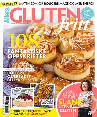 I SALG NÅ: Nytt blad med tips og oppskrifter for deg som lever glutenfritt.