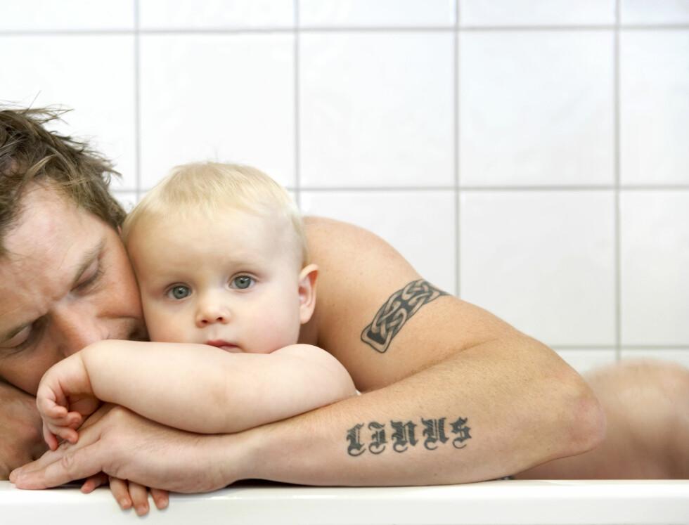 OGSÅ MENN: Svangerskaps- og fødselsdepresjon er ikke noe som bare rammer kvinner. Foto: Scanpix/NTB