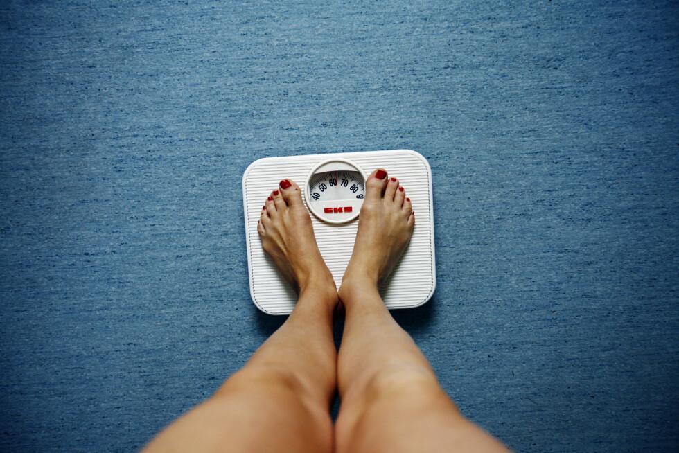 FOR TYNN: Kvinner bør helst ikke ha en fettprosent lavere enn 20, blir den for lav kan det føre med en rekke helsemessige konsekvenser.  Foto: Sara Johannessen / SCANPIX