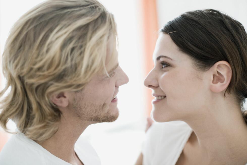 FORELSKELSE? Kjenner du forskjellen på en forelskelse og fysisk tiltrekning? Foto: Ilja Hendel