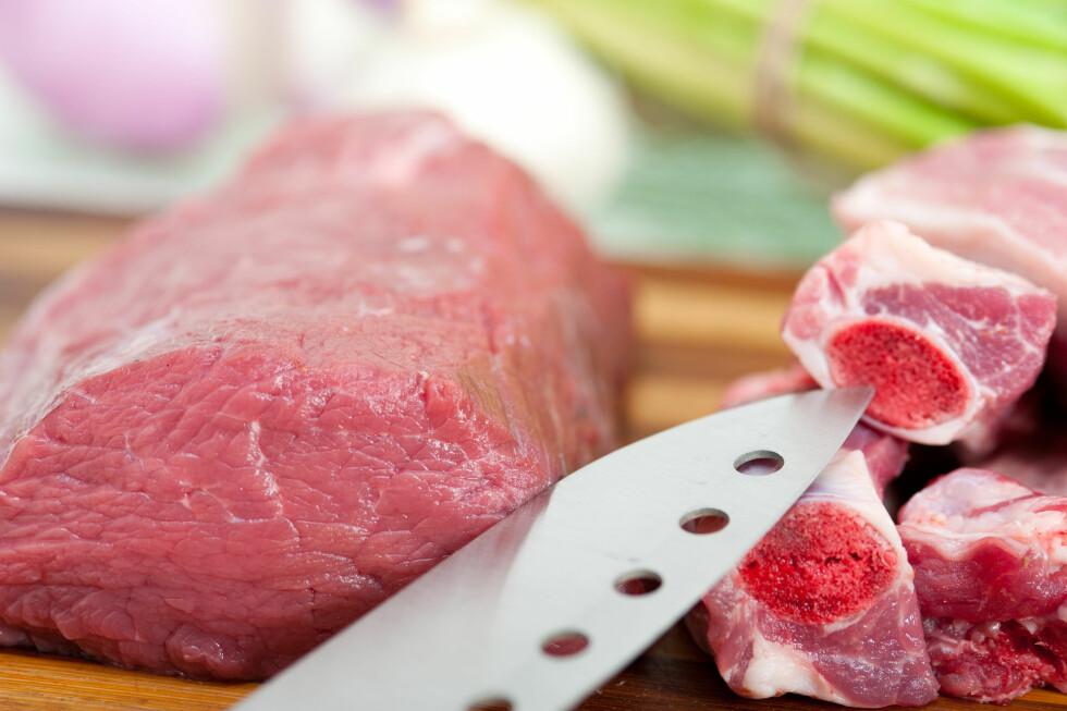 RENE KJØTTSTYKKER: Det er både sunnere og billigere å kjøpe hele kjøttstykker som du lager dine egne kjøttprodukter av.  Foto: keko64 - Fotolia