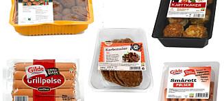 Husk å sjekke kjøttinnholdet i ferdigproduktene
