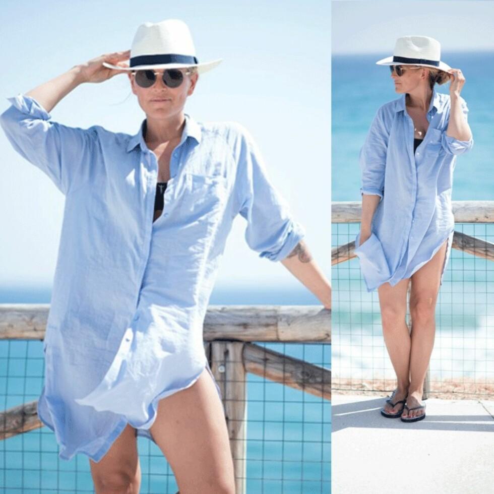 AVSLAPPET: En oversized skjorte er et smart kjøp til sommeren. Foto: Polliani.com