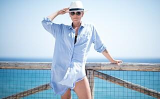 Slik kler Janka Polliani seg på sommerferie