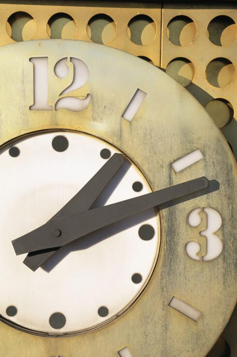 <strong>MENNESKELIG Å VÆRE SEN:</strong> Vi er sene igjen og igjen rett og slett fordi vi har funnet ut at det fungerer, mener psykolog.  Foto: Scanpix