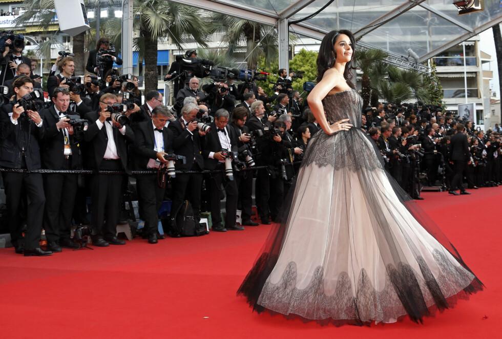 Bollywood-skuespiller Mallika Sherawat, 2013.     Foto: Scanpix
