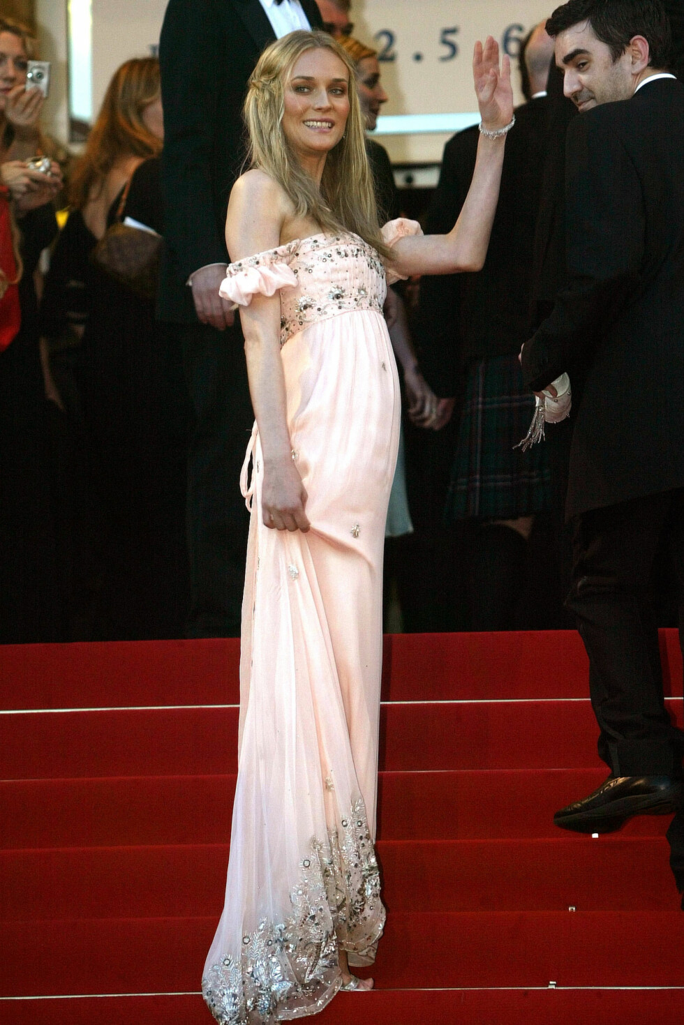 Skuespiller Diane Kruger, 2005.  Foto: Scanpix