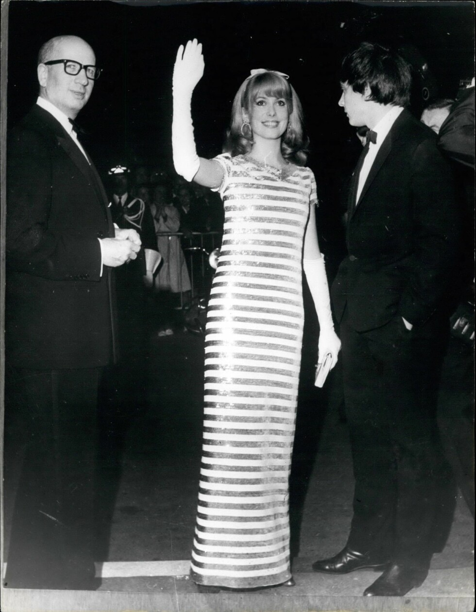 Skuespiller Catherine Deneuve, 1966.  Foto: Scanpix