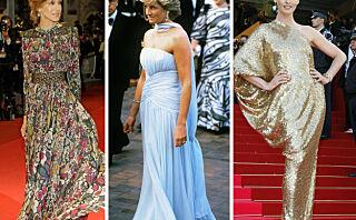 Tidenes vakreste Cannes-kjoler