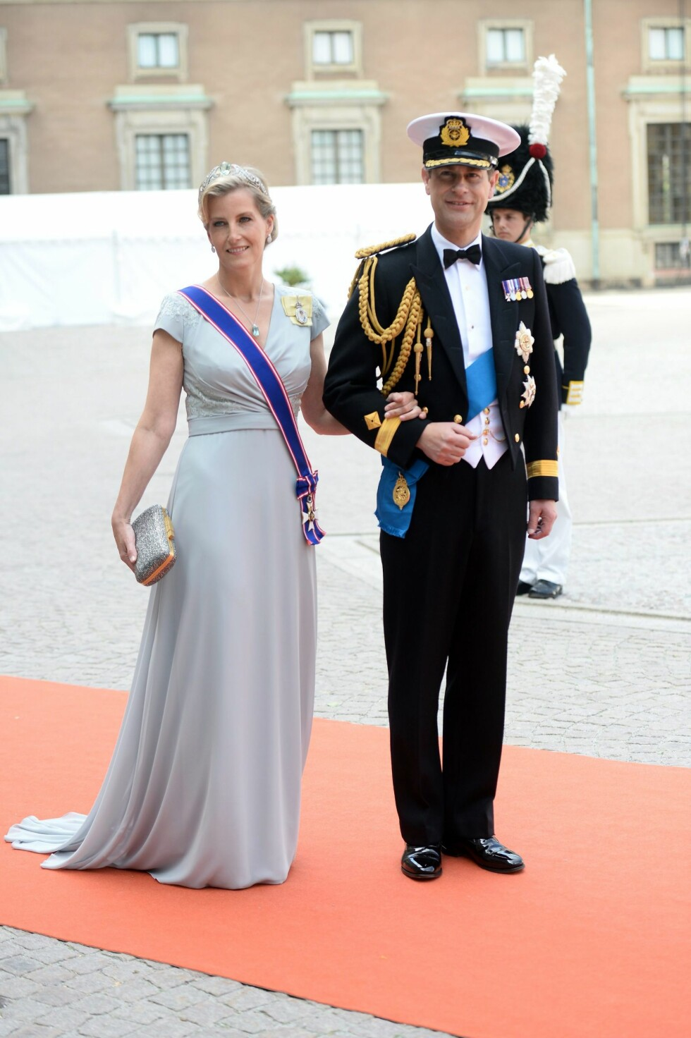 Prins Edward, Earl of Wessex og Sophie, Countess of Wessex Foto: Epa
