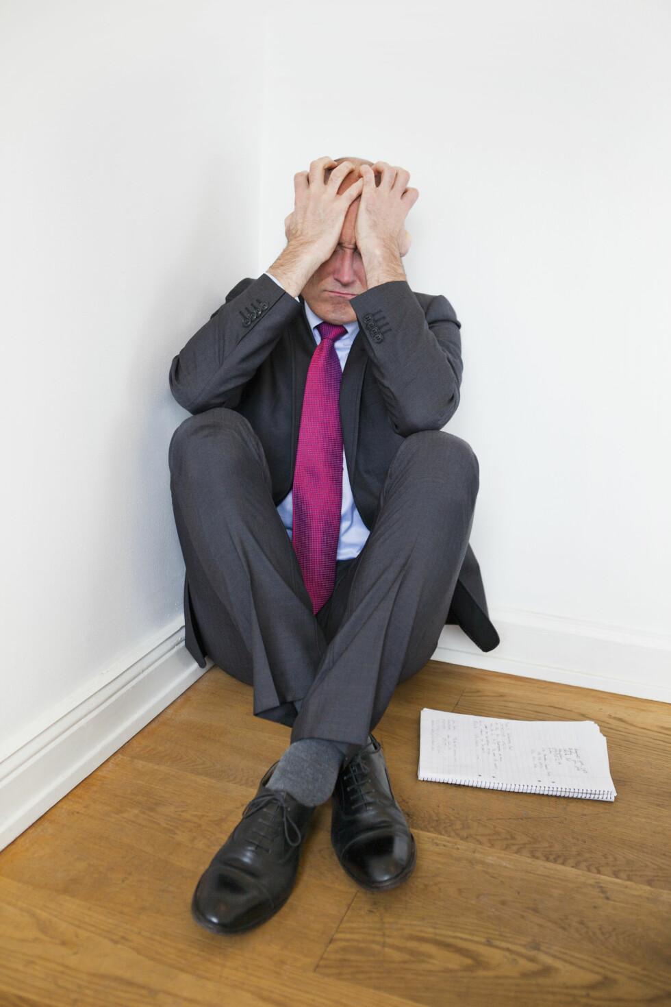 GITT OPP: Selvmord kan komme som et utfall av en rekke ulike årsaker. For menn er det ofte forbundet med skam. Foto: Scanpix/NTB