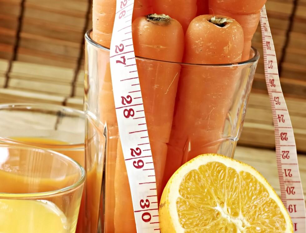 SUNNHET: Ortoreksi handler ofte ikke om slanking, men et ønske om å føle seg sunn, ren og naturlig. Mange dropper derfor hele matvaregrupper - noe som kan gå hardt utover energiinntaket til kroppen.  Foto: Colourbox