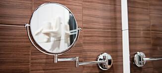 Hold deg unna forstørrende speil
