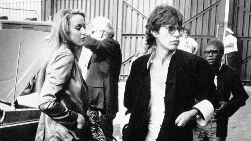 JETSETTERE: Mick Jagger og Jerry Hall var lenge et av verdens mest populære par.  Foto: Scanpix