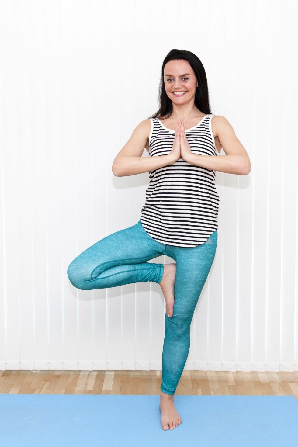 <strong>FOR KROPP OG SJEL:</strong> Sissel  finner ro og balanse i hverdagen med yoga, og i vår reiser hun på yogafestival på Bali.