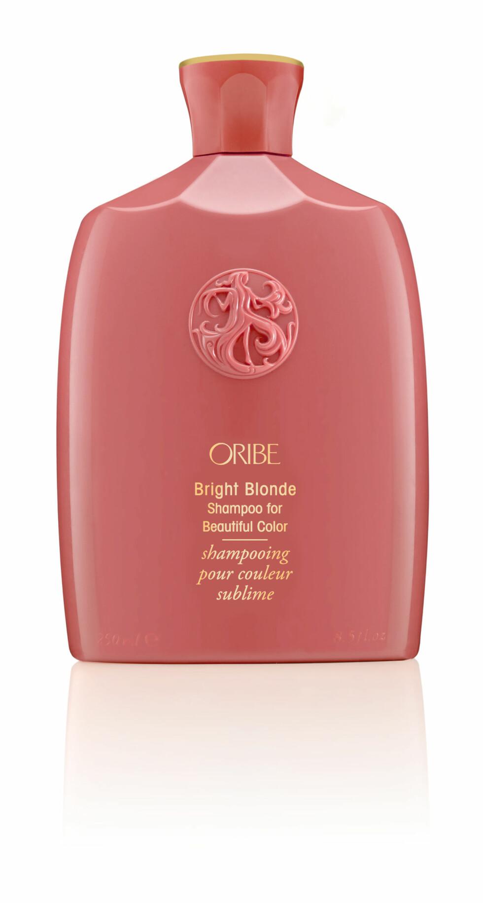 Bright Blonde Shampoo fra Oribe, kr 395. Foto: Produsenten