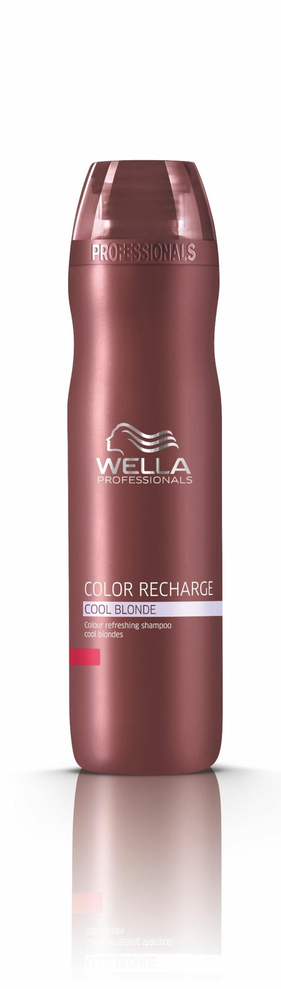 Color Recharge Cool Blonde Shampoo fra Wella, kr 239.  Foto: Produsenten