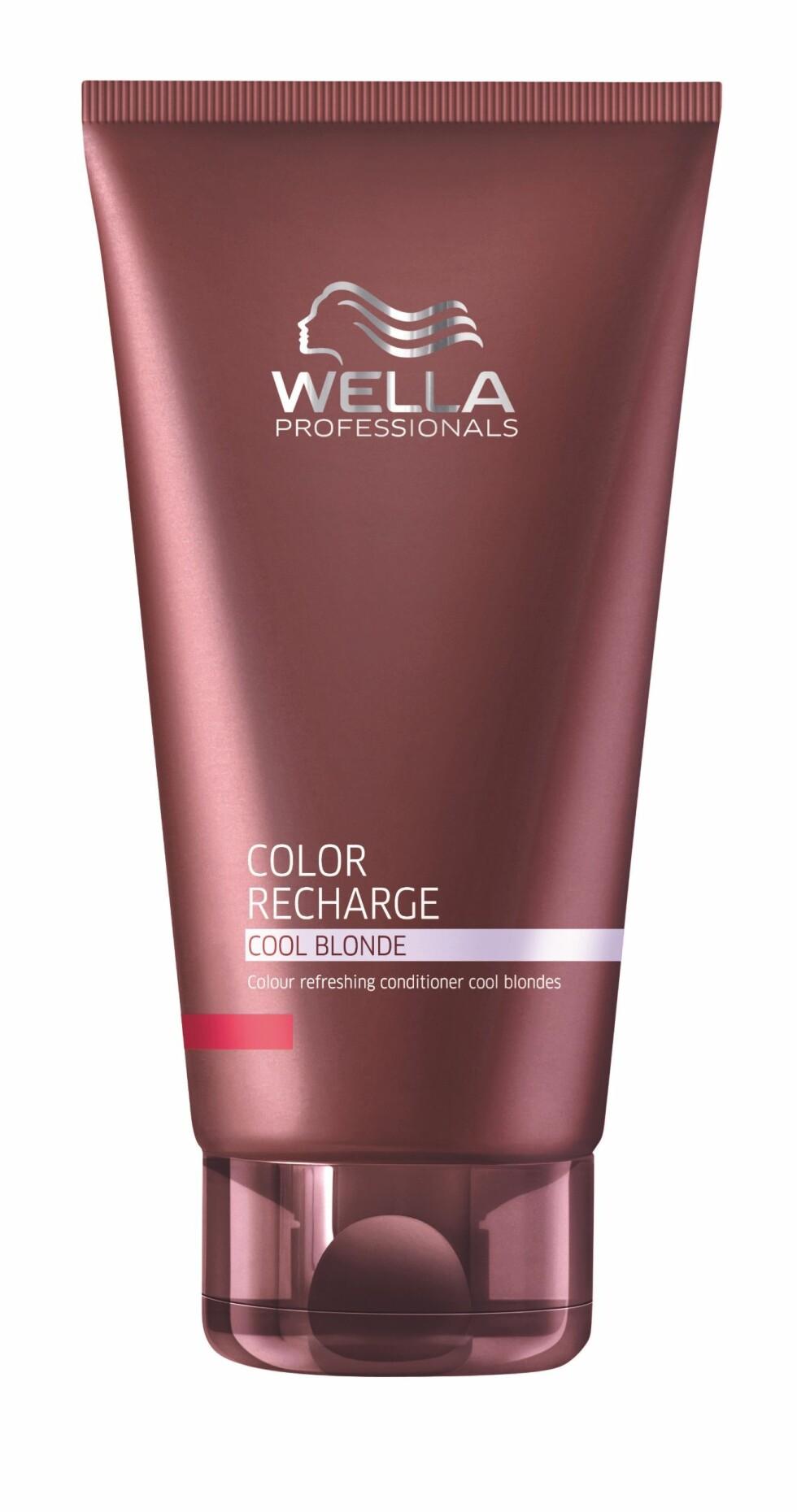 Color Recharge Cool Blonde Balsam fra Wella, kr 249.  Foto: Produsenten