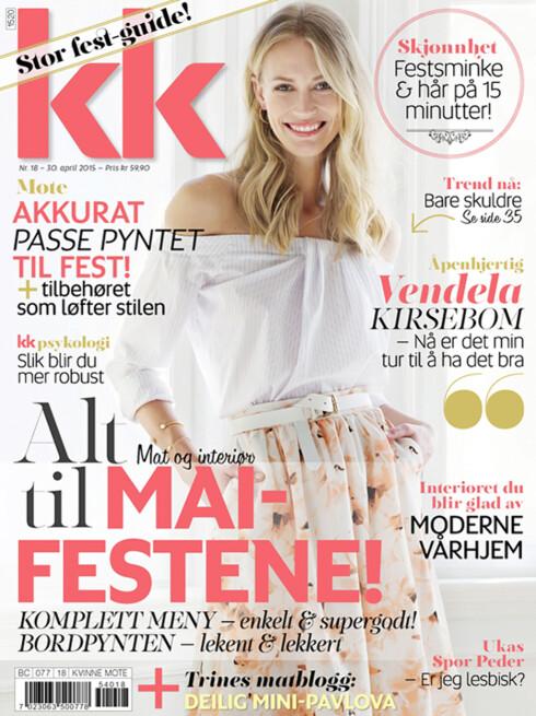 KK 18, i salg fra 30. april