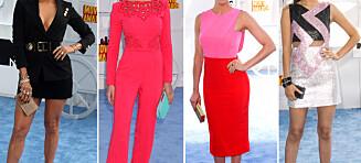 Disse var best kledd på MTV Movie Awards