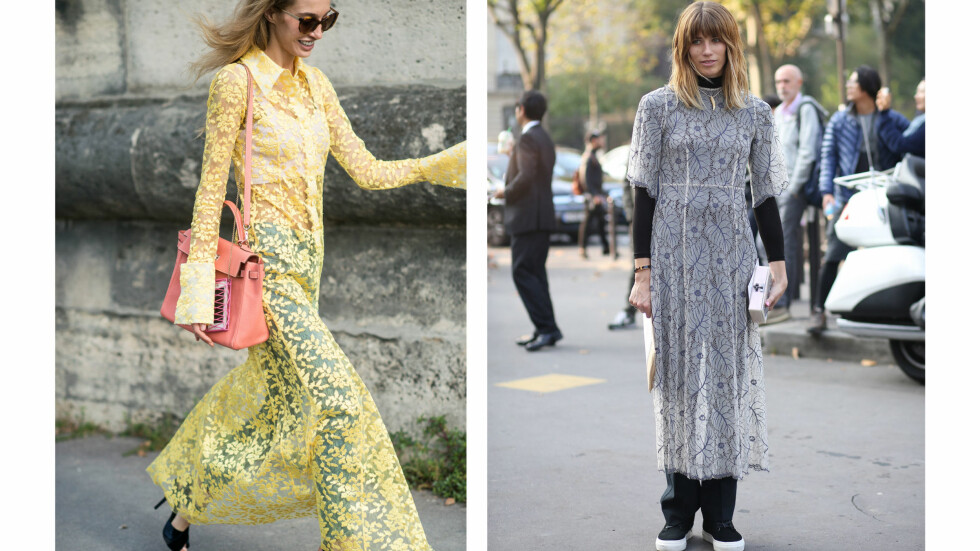 KJOLE & BUKSER: Nå trenger du ikke velge mer! Bruk favorittkjolen og buksene samtidig. Foto: Scanpix