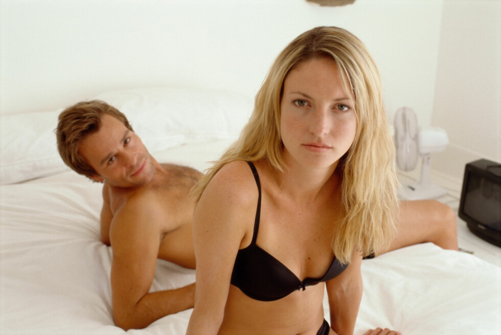 GAMLE OPPFATNINGER: Vi ser ofte på menn som seksuelle vesener, og tar det ofte personlig dersom han ikke ønsker sex like ofte som du gjør. Foto: Scanpix/NTB