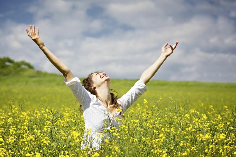 Lykken er å være takknemlig