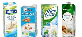 Mandelmelk, soyamelk, rismelk og havremelk - er det sunnere?