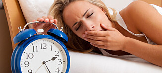 Slik kan lite søvn skade deg