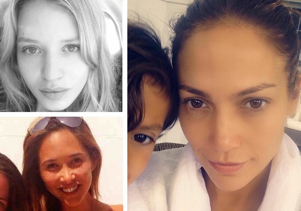 GEORGIA MAY JAGGER, JENNIFER LOPEZ OG MYLENE KLASS Foto: All Over Press