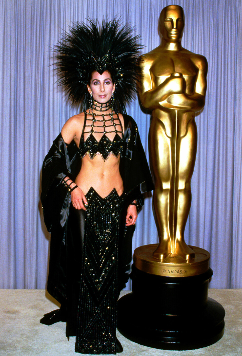 Cher Bono at the 58th Annual Academy Awards, 1986    Photo by Picturelux/insight media Foto: insight media/All Over Press