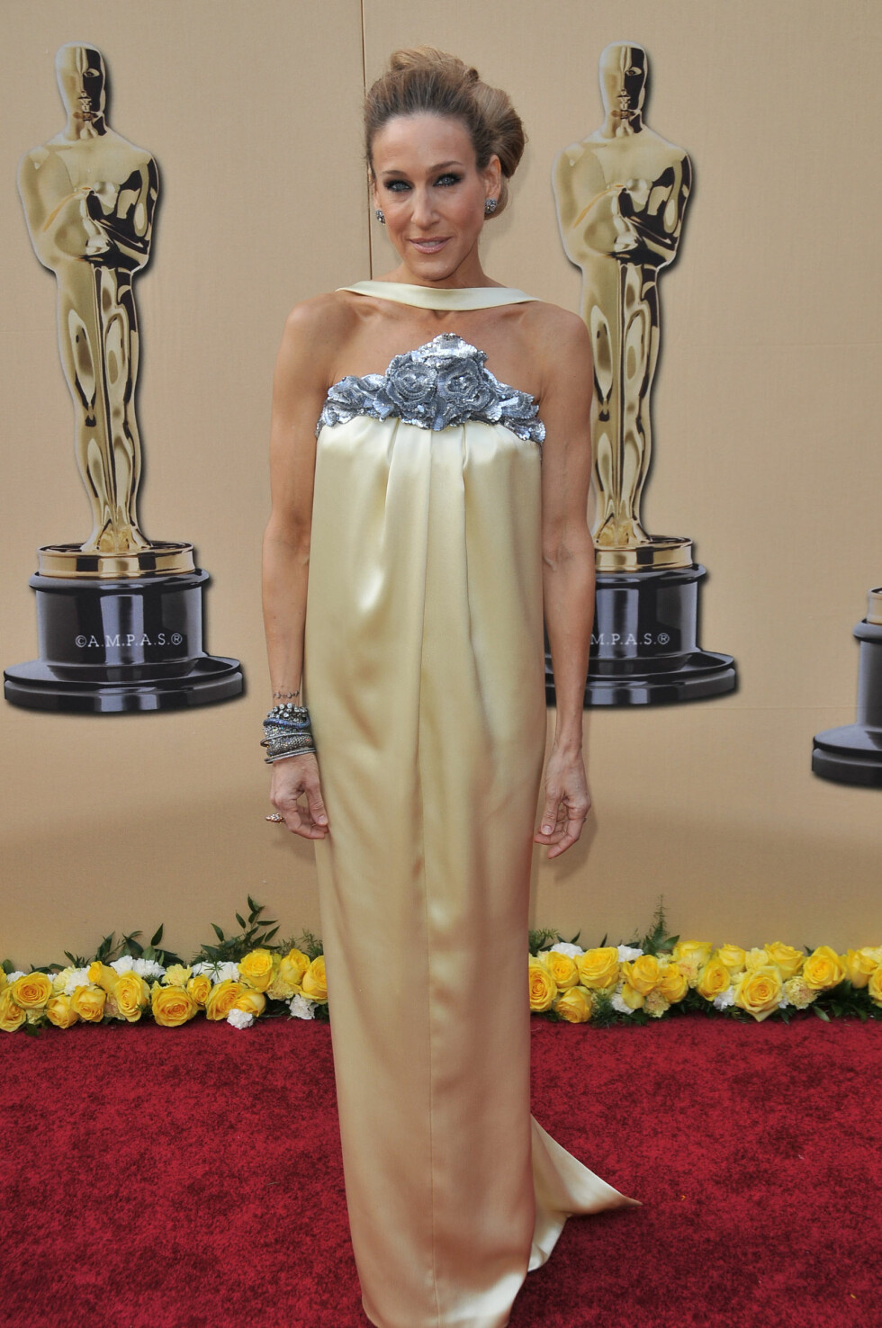 Sarah Jessica Parker at the 82nd Annual Academy Awards Arrivals held at the Kodak Theatre in Hollywood, CA., on March 7, 2010. Photo Credit: Sthanlee B. MIrador_Shooting Star  All Over Press Foto: All Over Press
