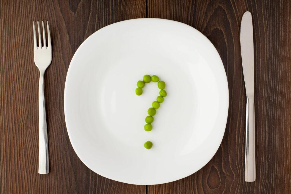 IDENTITETSMARKØR: Hvilken diett du følger sier mye om identiteten din, mener Kristin Undheim ved markedshøyskolen.  Foto: All Over Press
