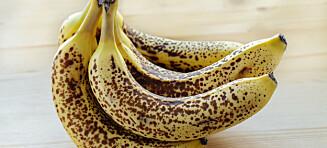 Ikke kast de brune bananene