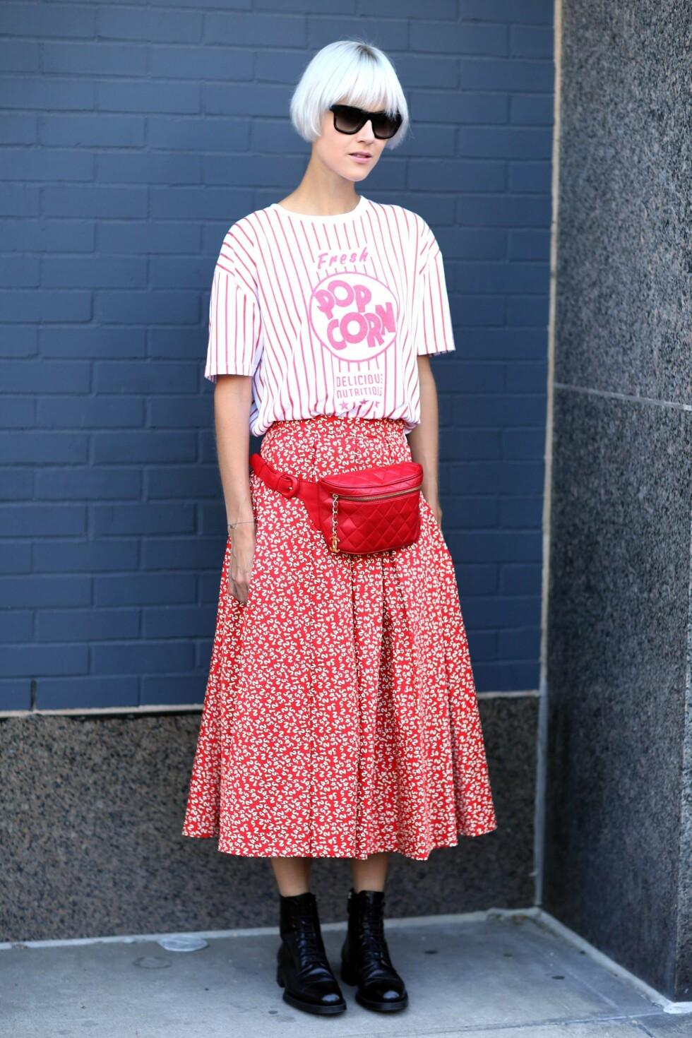 De tilfeldige motivene gjort i vintage-stil tar T-skjorte-trenden på kornet. Foto: All Over