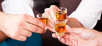 Kan sterk alkohol lette metthetsfølelsen?