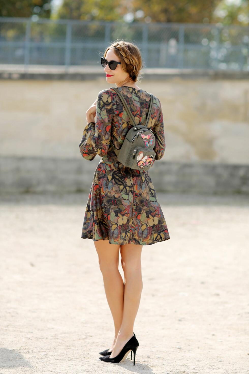 Blomstermønstrede kjoler var å se i alle varianter og farger under moteukene. Foto: All Over