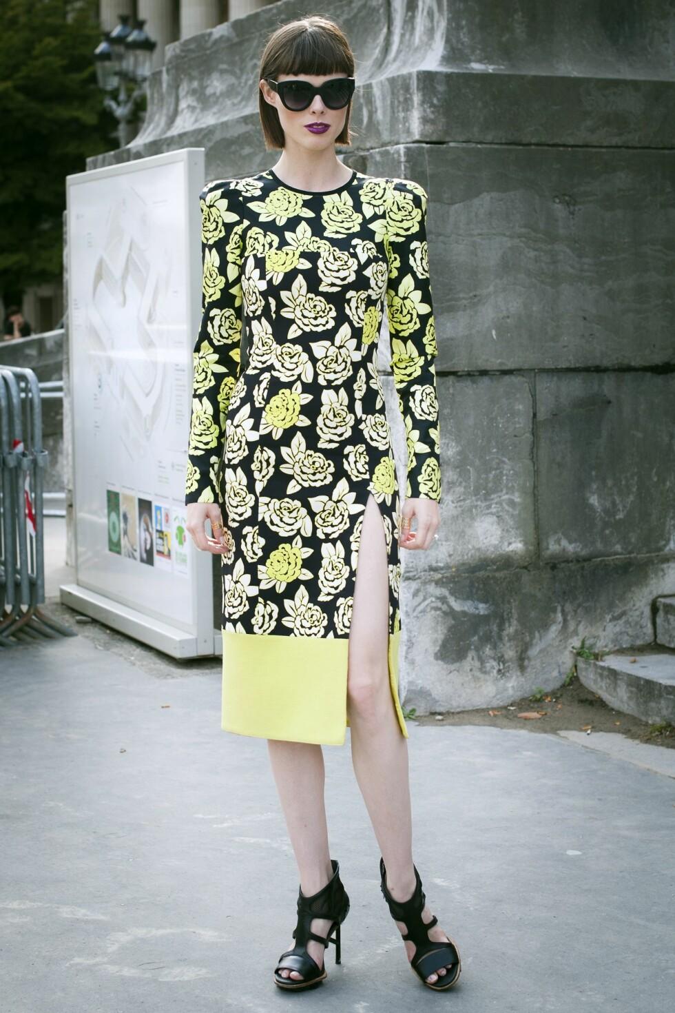 Gå for en langermet variant som supermodellen Coco Rocha.  Foto: All Over