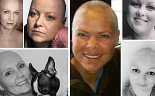 Kreftsyke norske kvinner kaster parykken på Facebook