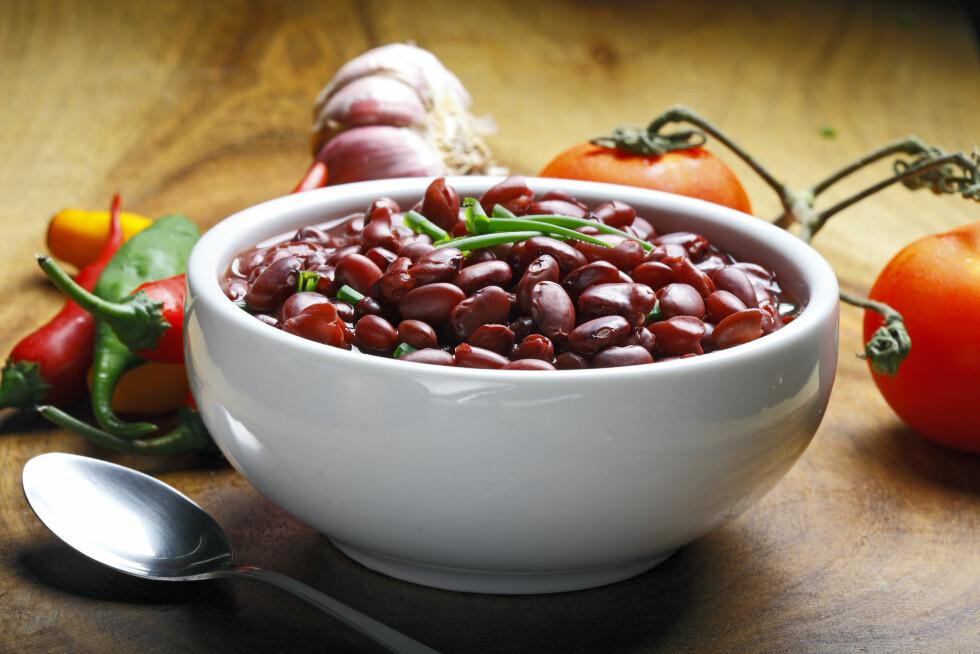 BRA BØNNER: Kidneybønner gjør seg godt i både salater, meksikanske gryter og til tacoen.  Foto: sattriani - Fotolia