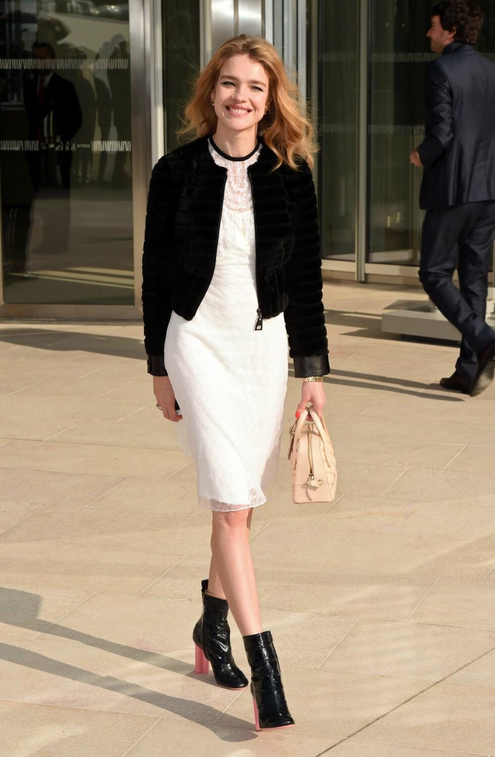 Supermodell Natalia Vodianova. Foto: David Fisher/REX/All Over Press