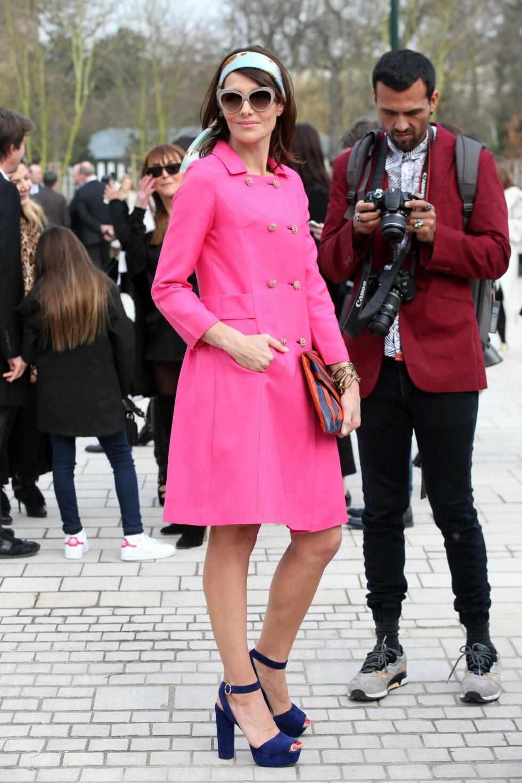 I knall rosa! Foto: REX/All Over Press
