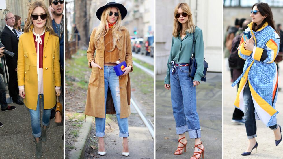 <strong>SUPERENKELT STILTRIKS PÅ ET PAR JEANS:</strong> La deg inspirere av stilikonene, og gjør buksen enda kulere med en brett denne våren.
