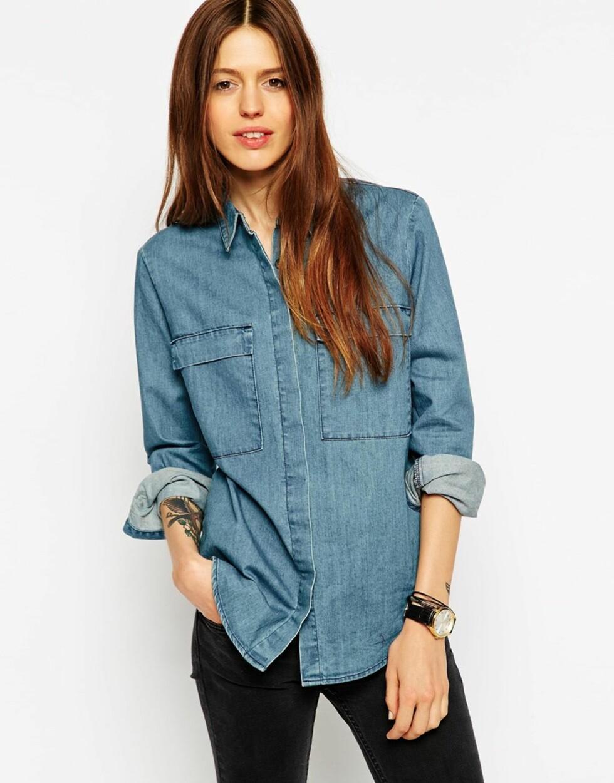 Skjorte fra Asos.com, 304 kr. Foto: Produsenten.