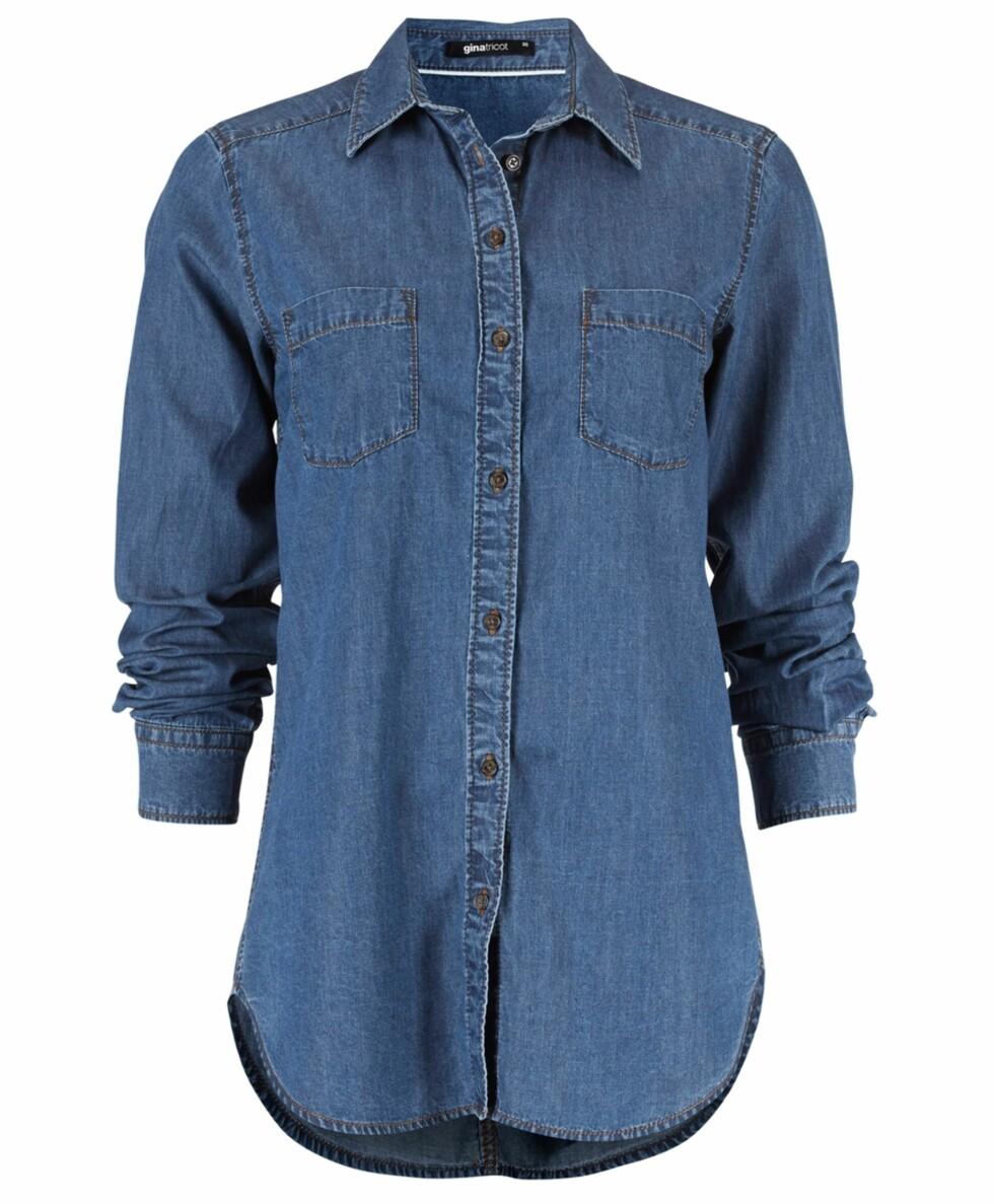 Skjorte fra Gina Tricot, 199 kr. Foto: Produsenten.