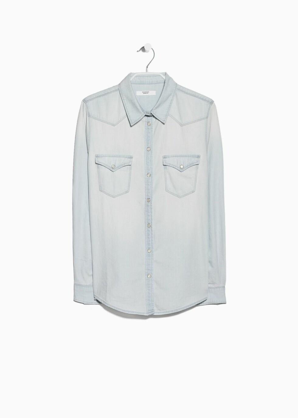 Skjorte fra Mango, 299 kr. Foto: Produsenten.