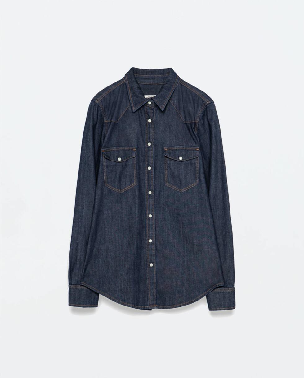 Skjorte fra Zara, 399 kr. Foto: Produsenten.