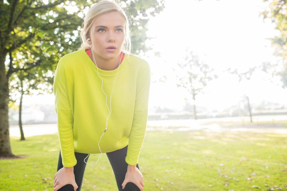 HELSEJOBB: Bare det å trene to ganger i uka kan utgjøre stor forskjell for helsa, men det er forutsatt at du trener effektivt. Foto: Wavebreak Media ltd / Alamy/All Over Press